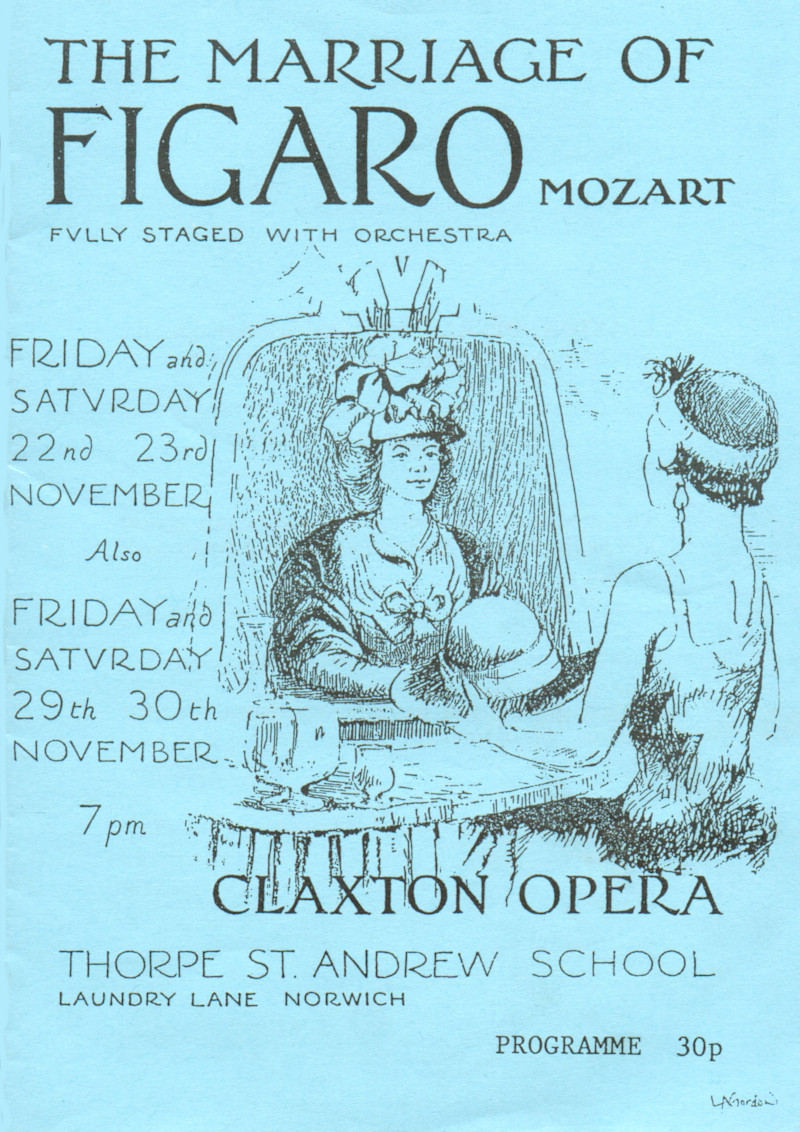 Figaro Programme Cover