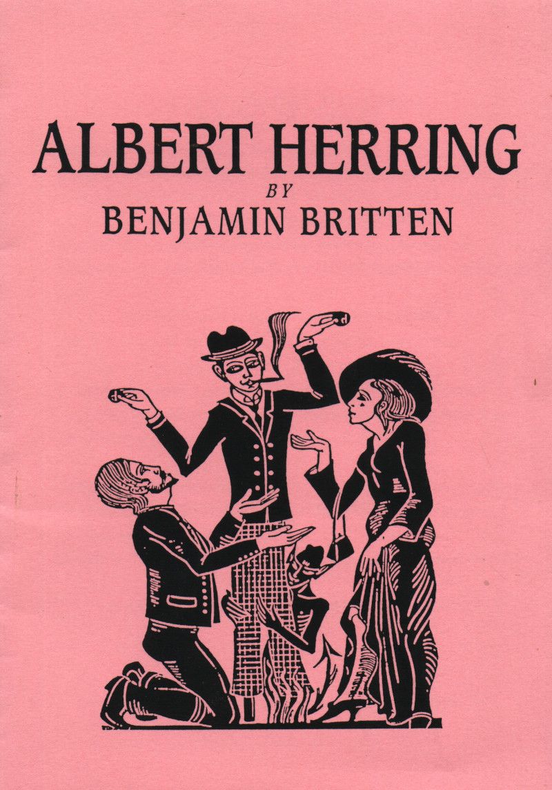 Albert Herring Programme Cover